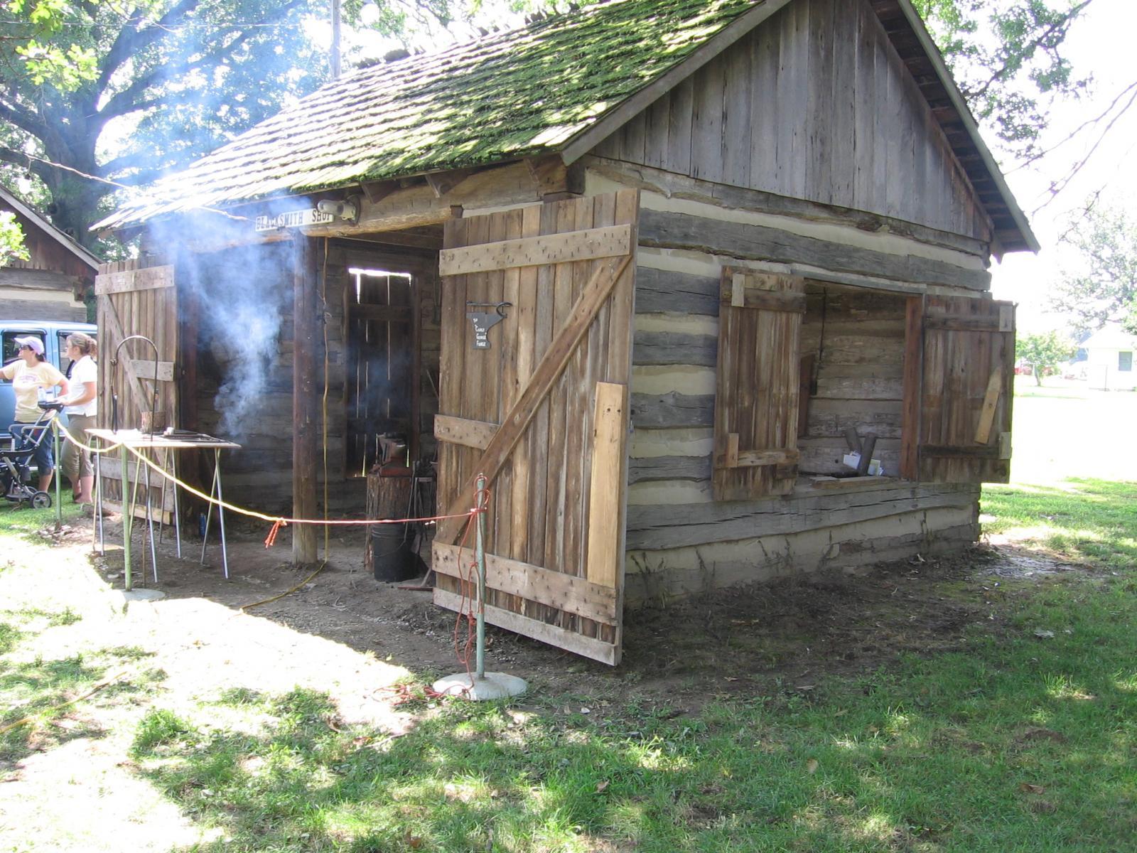 pioneer blacksmith blacksmith shop pinterest blacksmith shop