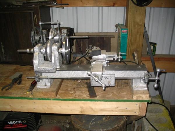 how to build a mini metal lathe