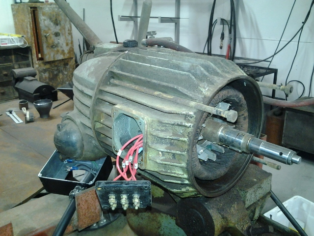 How To Remove Electric Motor Stator Problem Solving I
