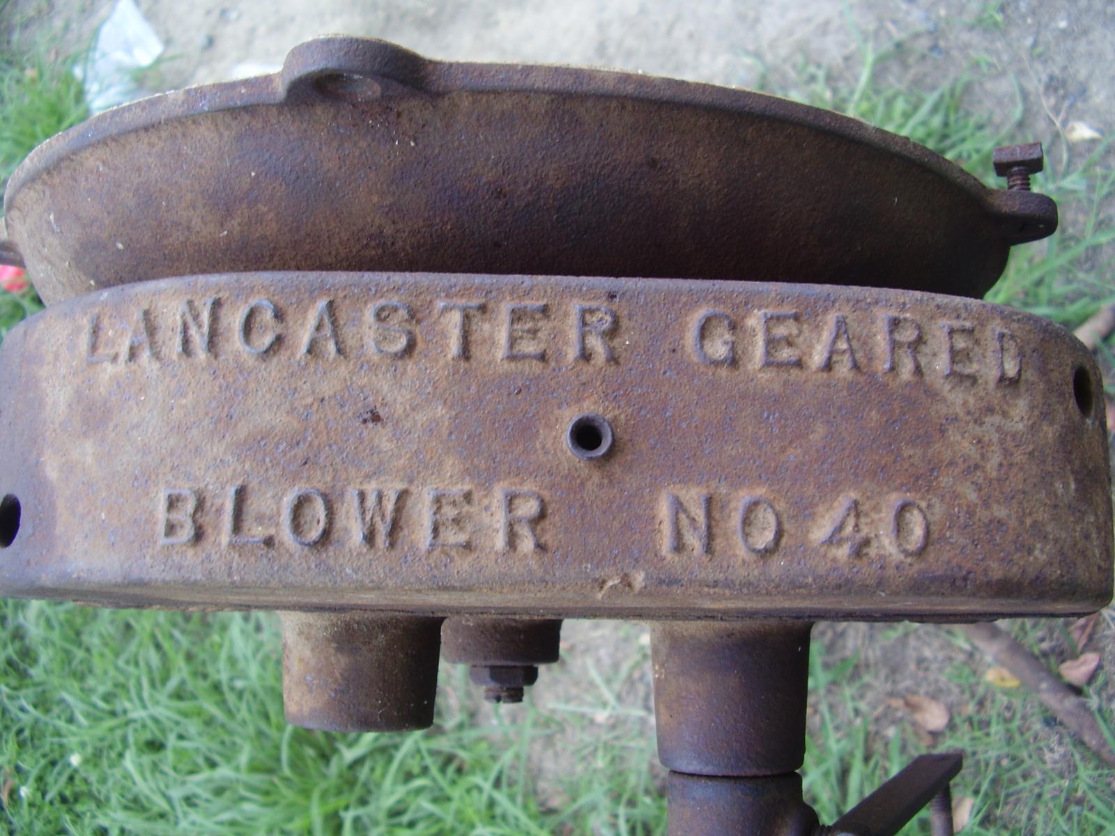 Lancaster Blower Gear Box
