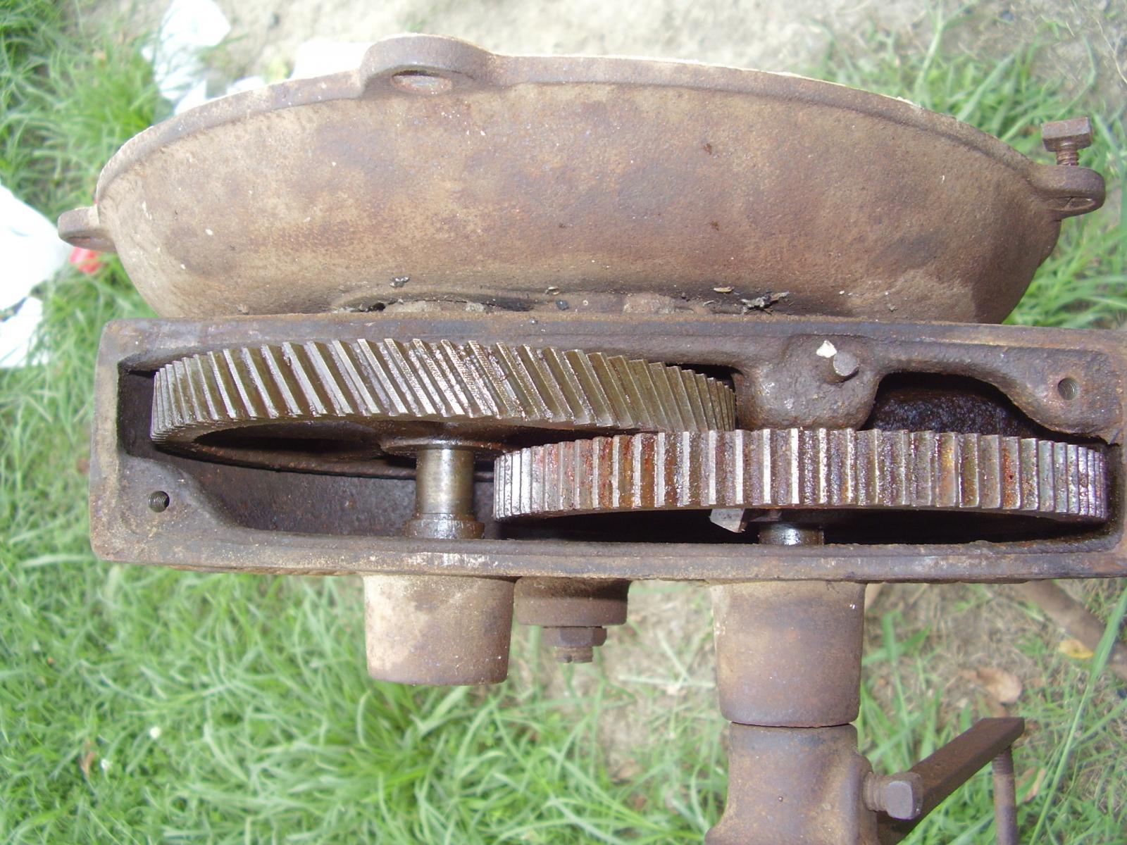 Lancaster Blower Gears (Missing a Gear)