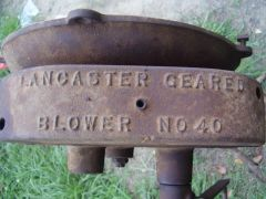 Lancaster Blower Gear Box