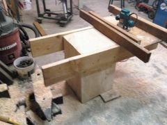 router sled to square ends