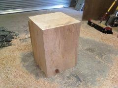 finished block