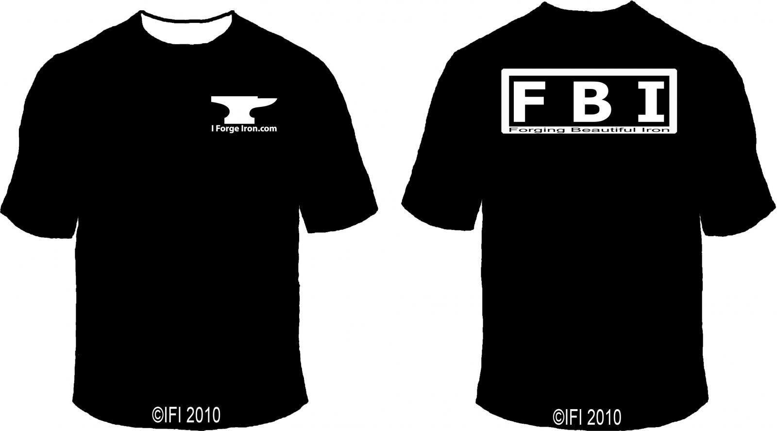 IFI FBI shirt