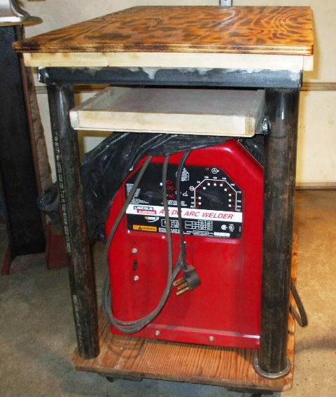 Welding Table and Workbench on Wheels