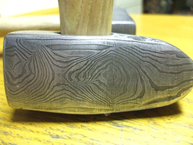 Pattern Welded Hammer 1