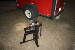 Striking Vise and Stand