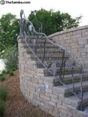 aquatic theme rail..love projects like this