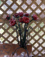 One Dozen Long Stemed Roses