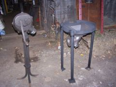 new portable coal forge