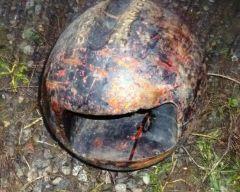 round anvil swedge headache ball