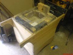 -charcoal forge box