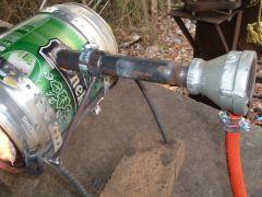 burner clamp &  support bracket