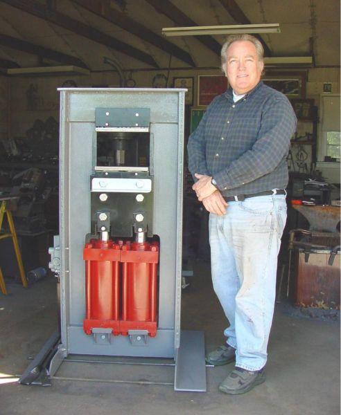 60 Ton Hydraulic Forging Press