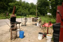 Blacksmith Workshop at D Acres Organic Farm and Educational Homestead