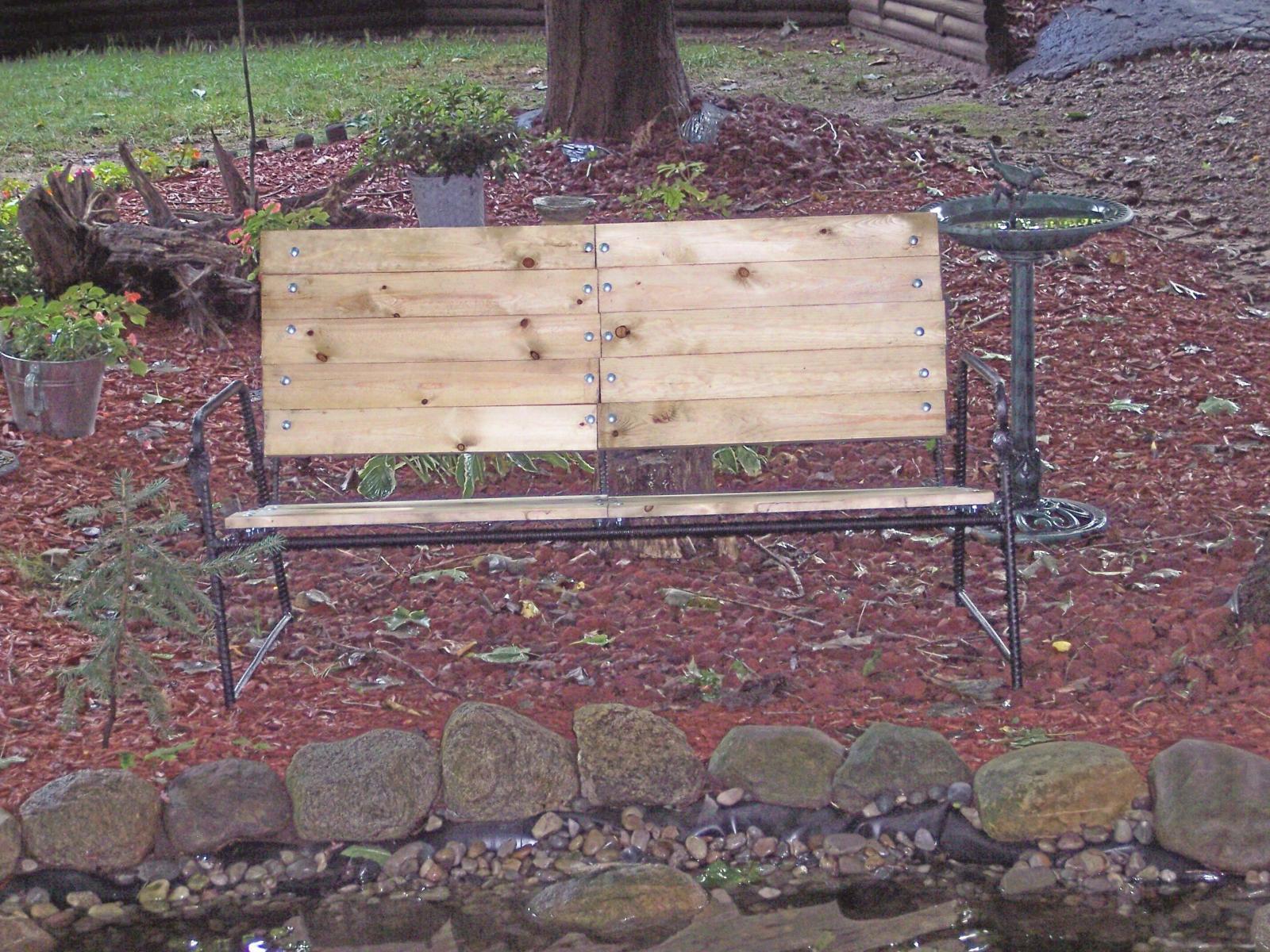 Rebar bench