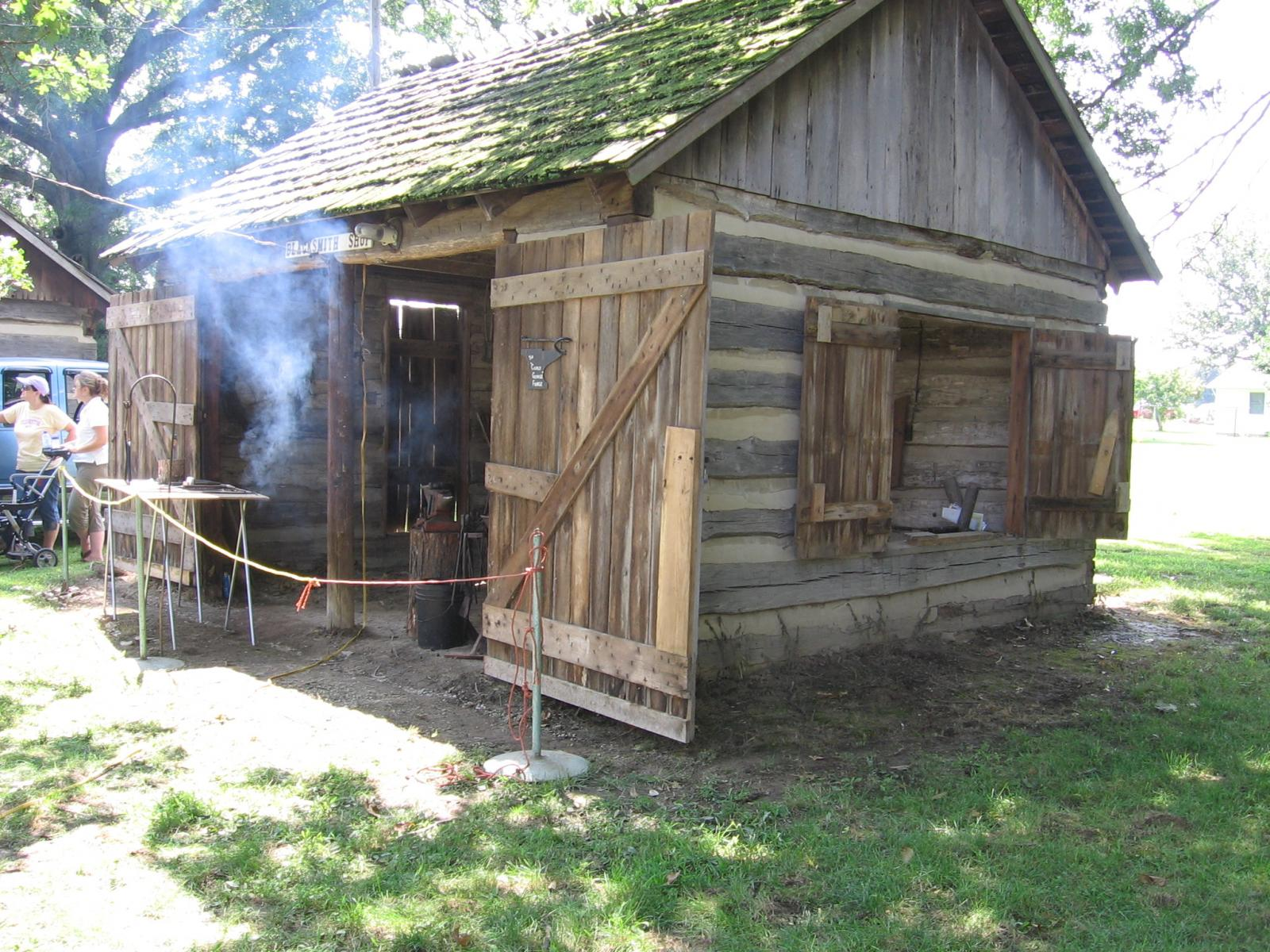 Pioneer Village Blacksmith Shop