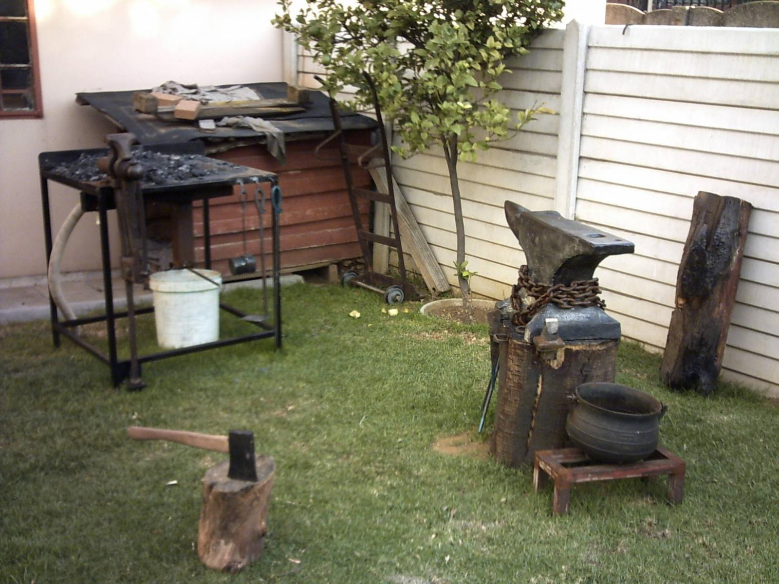 my backyard open air smithy member galleries i forge iron
