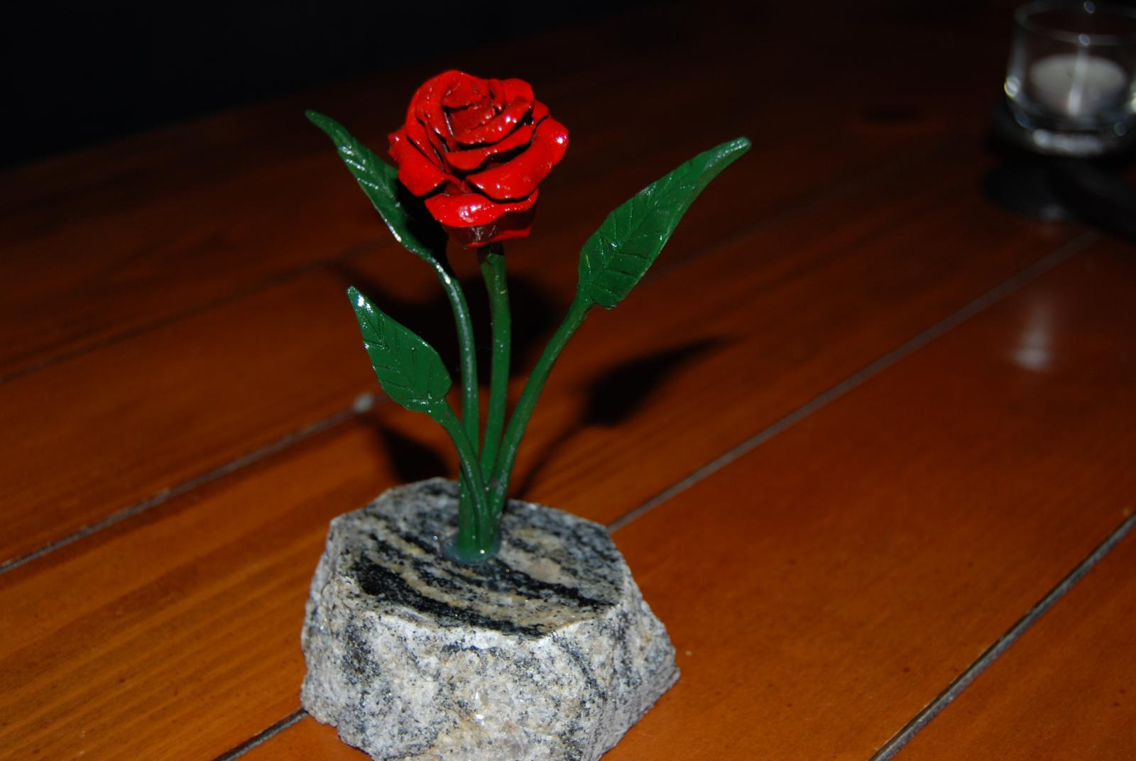 Rose Sculpture Member Galleries I Forge Iron