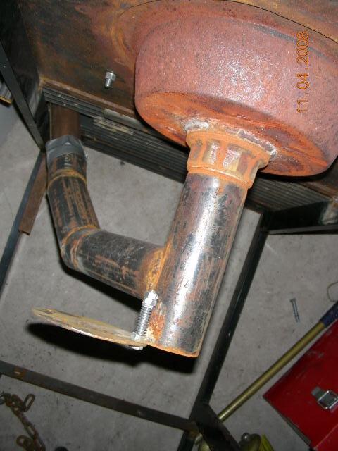 JYF brake drum fire pot underside