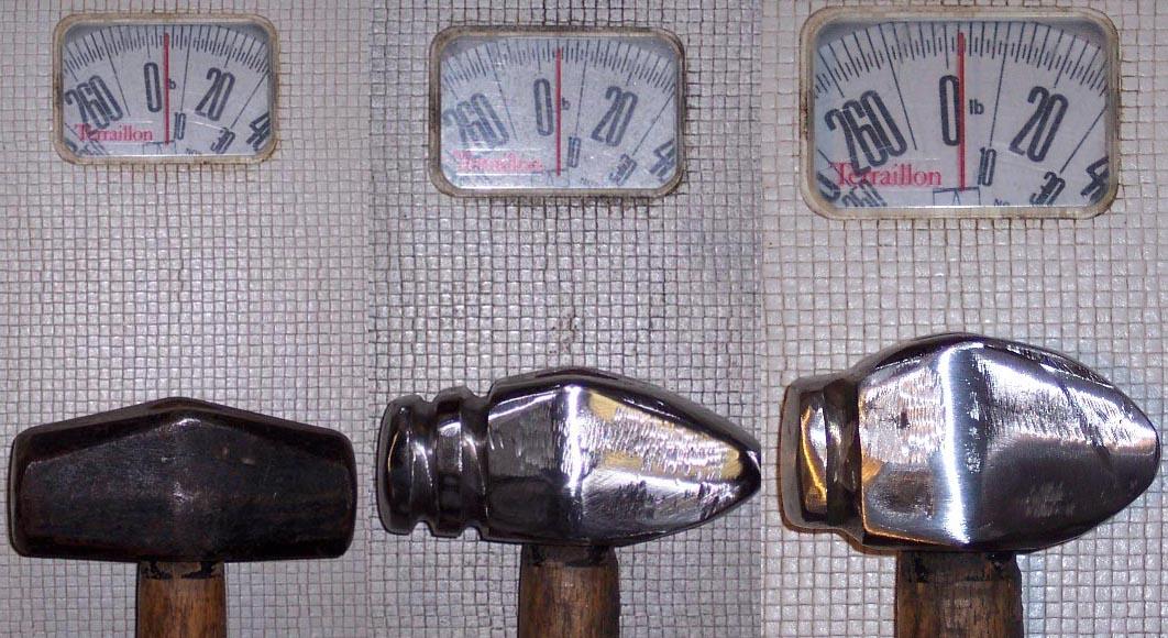 Evolution of a hammer