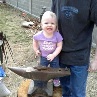 Brooke at the Anvil