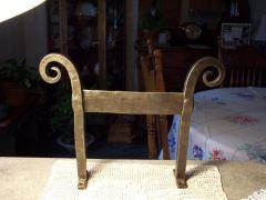boot scraper made for the Bam auction, Missouri blacksmith asso