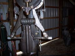 modified 50 lb. little giant linkage