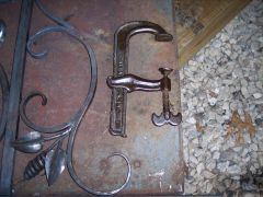 old clamp (well over 100 years old)