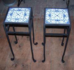 ceramic tile end tables