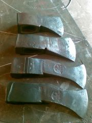 four axes, after sharpening and hardening