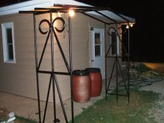 Arbor complete and in place