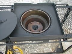 Brake Drum Fire Pot