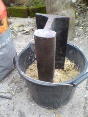 Rail anvil