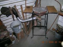 New forge stand and blower