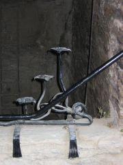 Candelabra  from Burg Rhinefels