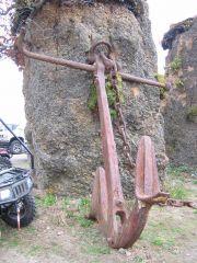 Massive Wrought Iron Anchor