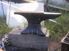 my first anvil
