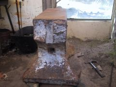 another angle of me anvil