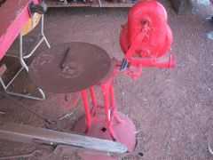 red plow steel forge