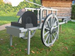 18th. Century Traveling Forge