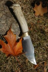 !00 year-old whitetail handle forged file