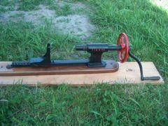 I.I.&B horizontal drill.