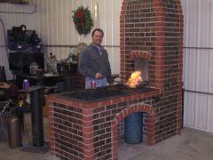 Jeremy K's masonry forge
