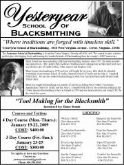Yesteryear School of Blacksmithing