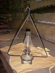 oil lamp hanger