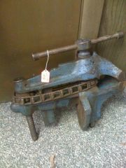 chain drive fisher #2 vise