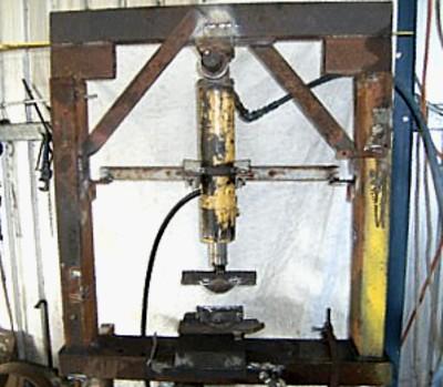 Homemade Hydraulic Press - Member
