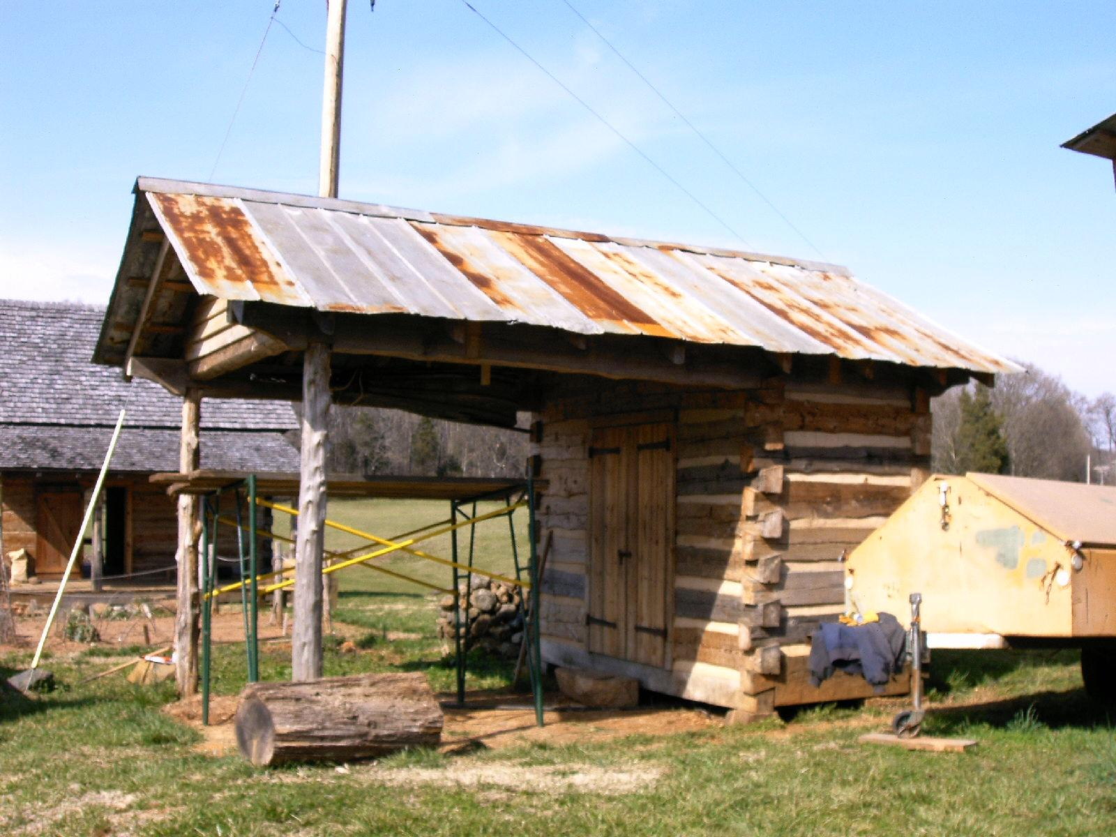 Rural Hill Farm forge